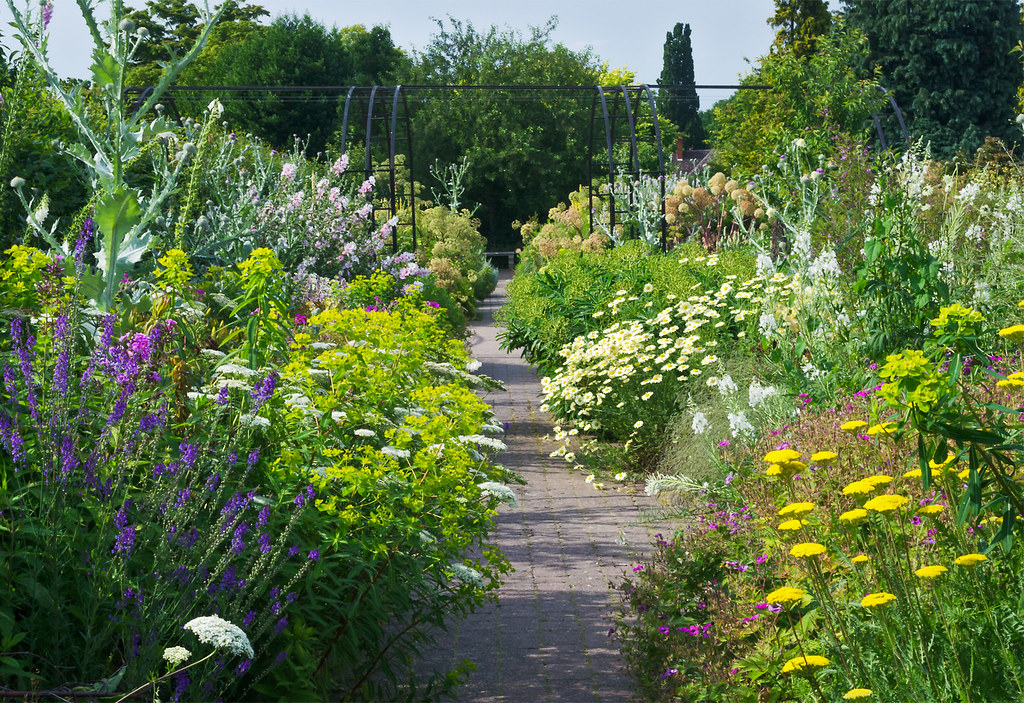 English Herbaceous Borders | Gardens at RHS Wisley, Englan ...