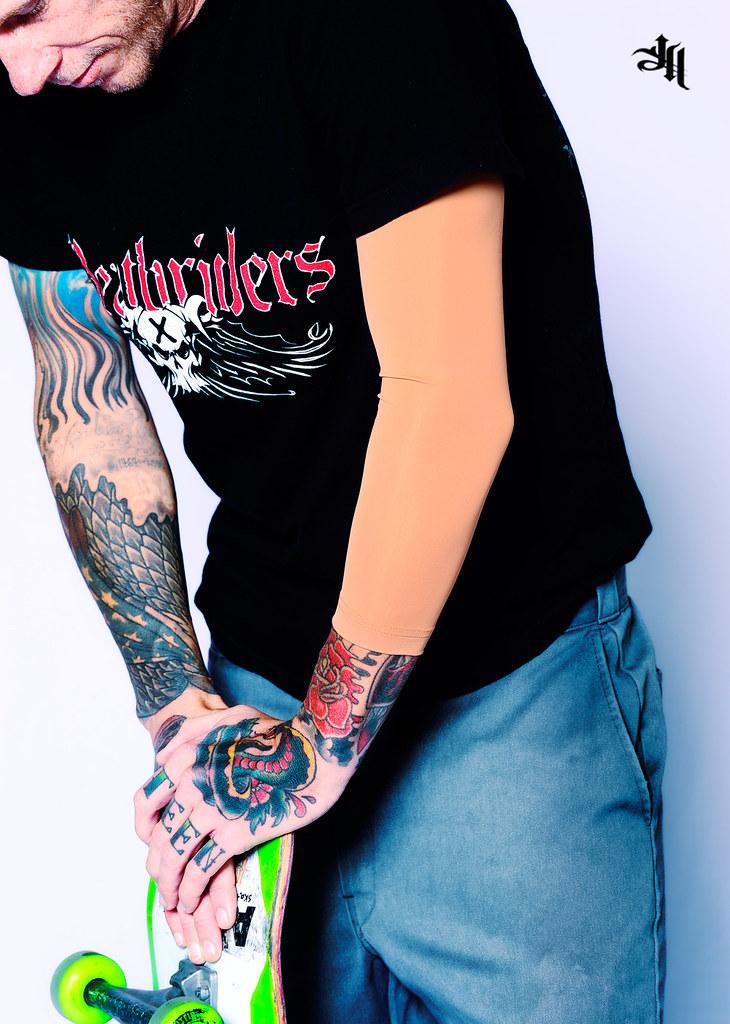 June19 2012 ink armor 3 4 suntan skin tone tattoo cover for Skin tone tattoo cover up