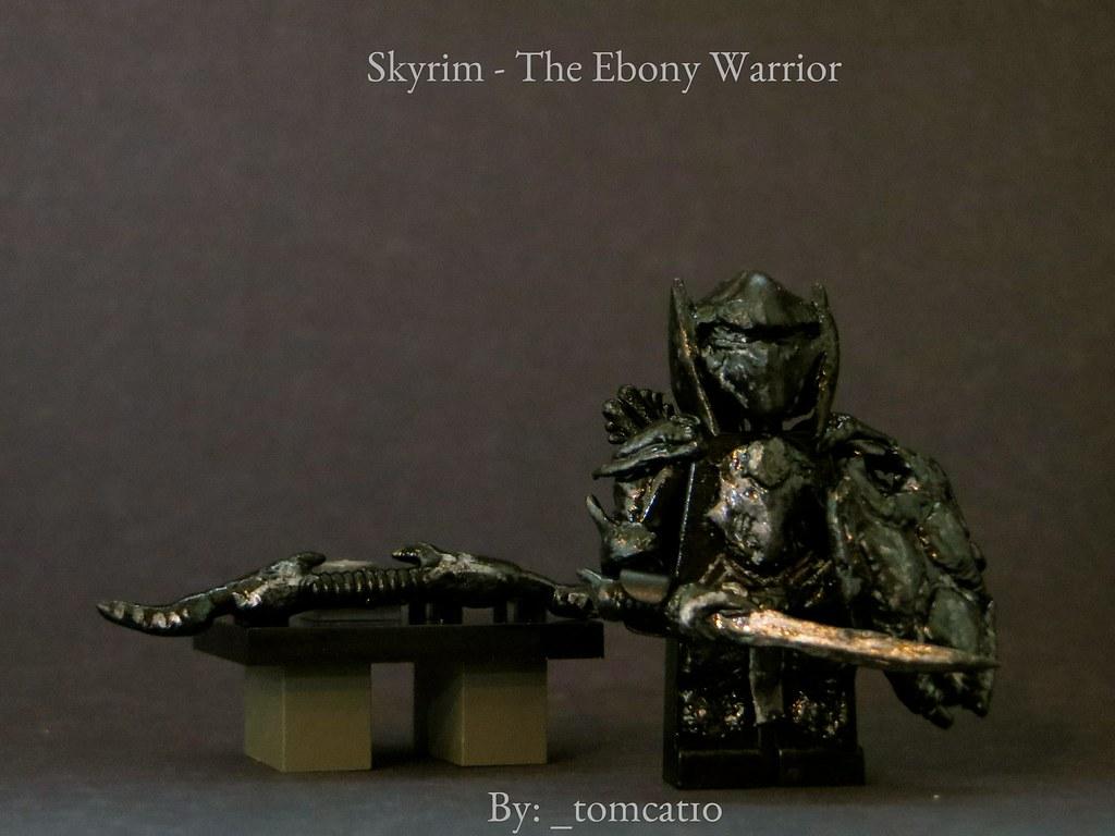 Skyrim ebony bow