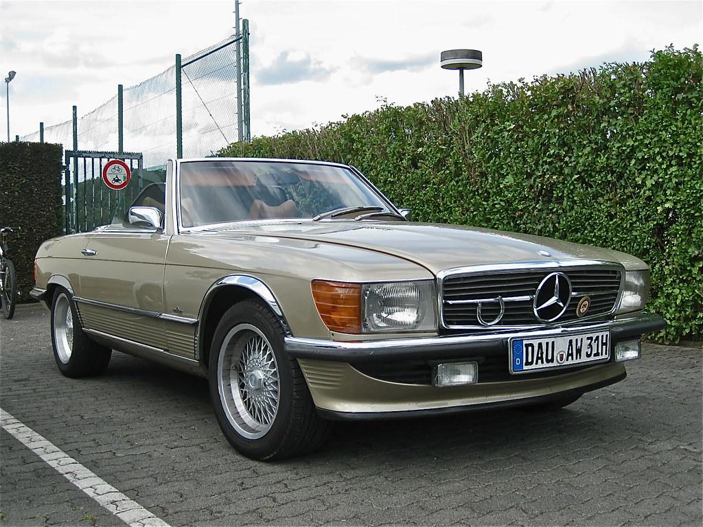 70s Mercedes Benz W107 350 Sl Cabriolet 3499cc V8 Engine