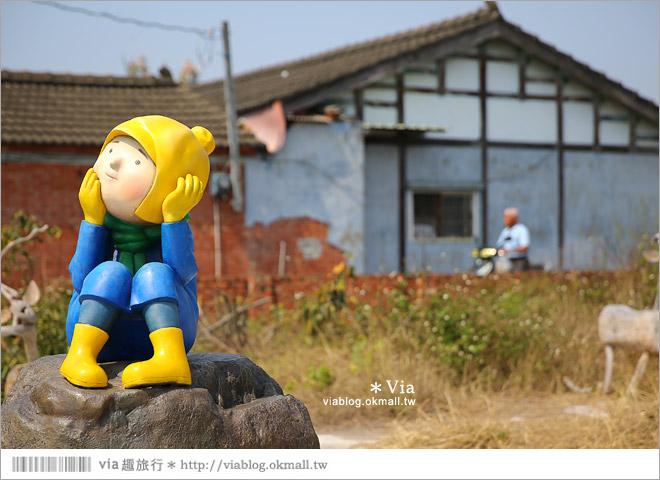 【台南後壁幾米】後壁土溝農村美術館‧農村就是美術館!幾米作品可愛現縱~40