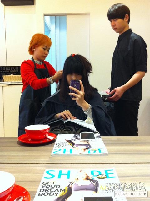 the comb hair studio  senior stylist angie tan
