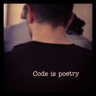 Code is poetry | by tetue