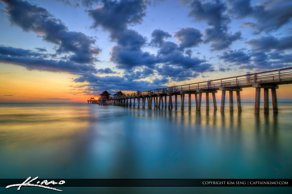 Naples pier sunset at florida gulf coast original post for Gulf shores pier fishing forum