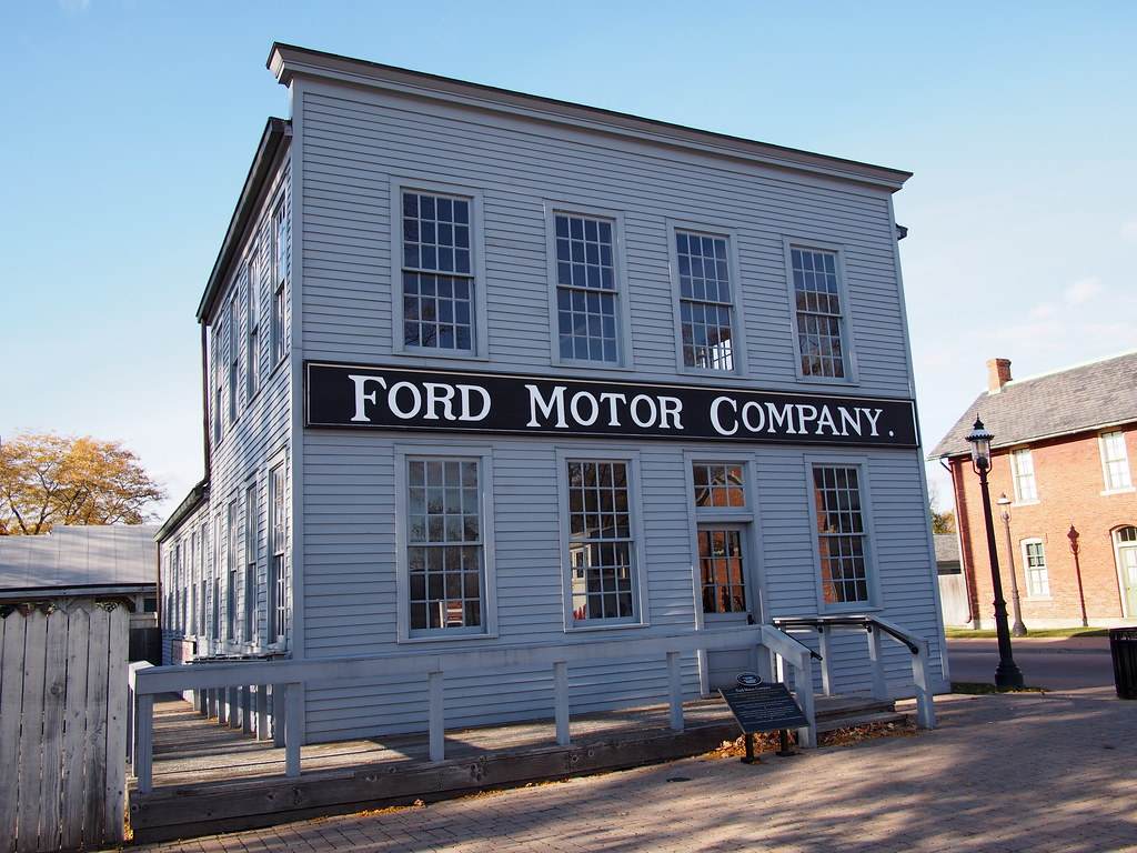 First Ford Motor Company 1903 Replica Replica Of First