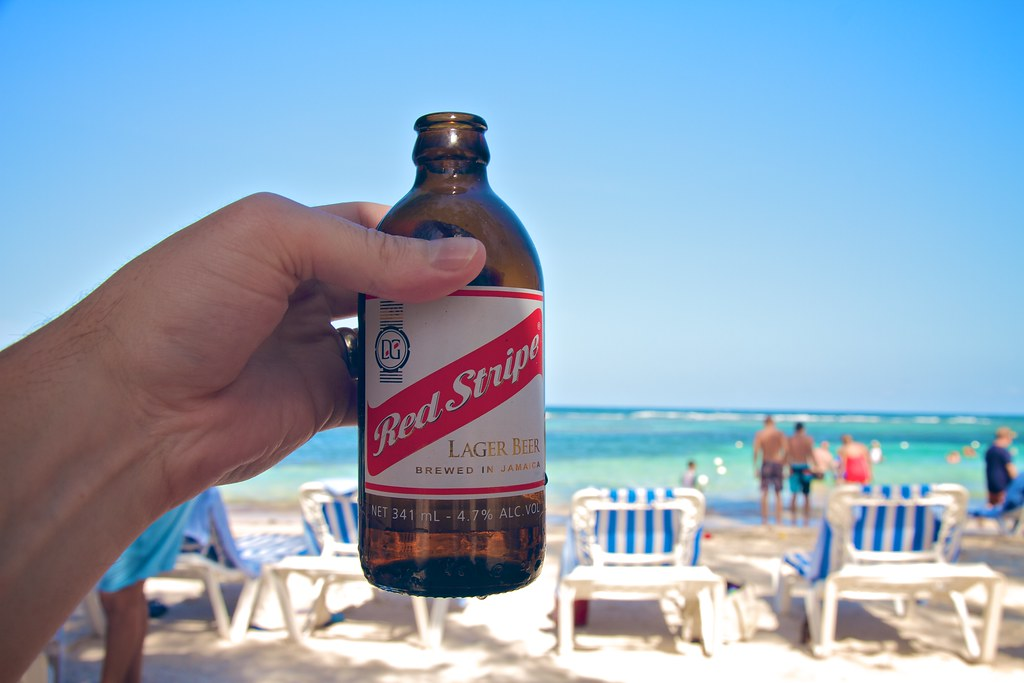 Red Stripe Beer At Red Stripe Beach Michael Bentley Flickr