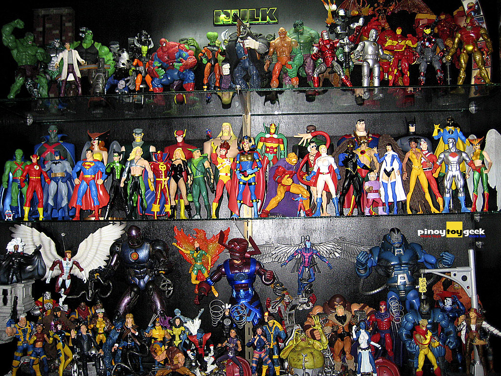 my toy collection marvel amp dc subscribe to