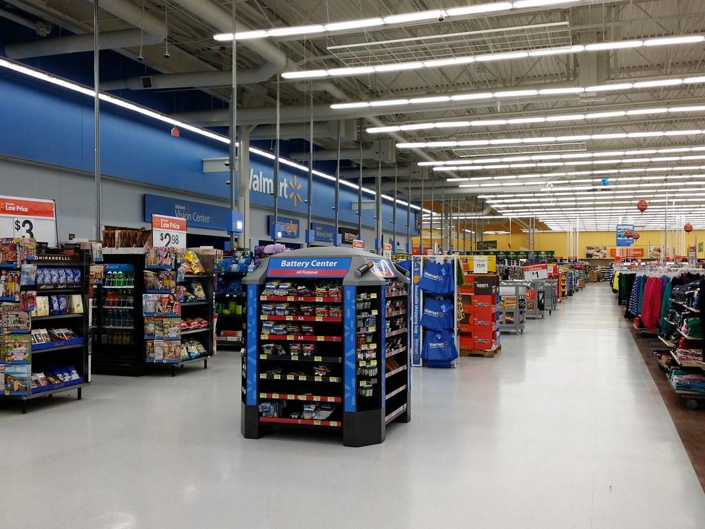 Walmart Supercenter In Glen Burnie Maryland Front End