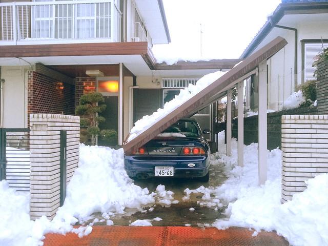 Heaviest snow in Japan