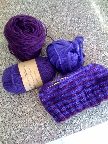 Purples hat WIP