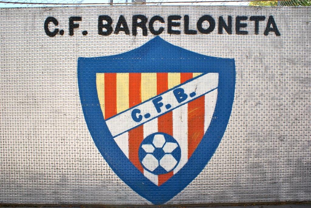Terrain du foot du CF Barceloneta à Barcelone.