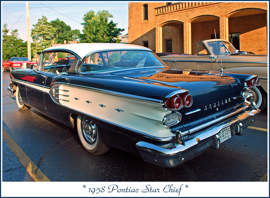1958 Pontiac Star Chief The June 20 2013 Downtown Tecumse Flickr