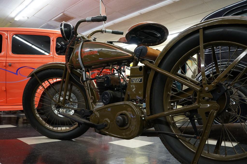 "1926 Harley Davidson Peashooter: 1926 Harley Davidson ""peashooter"" Model B"