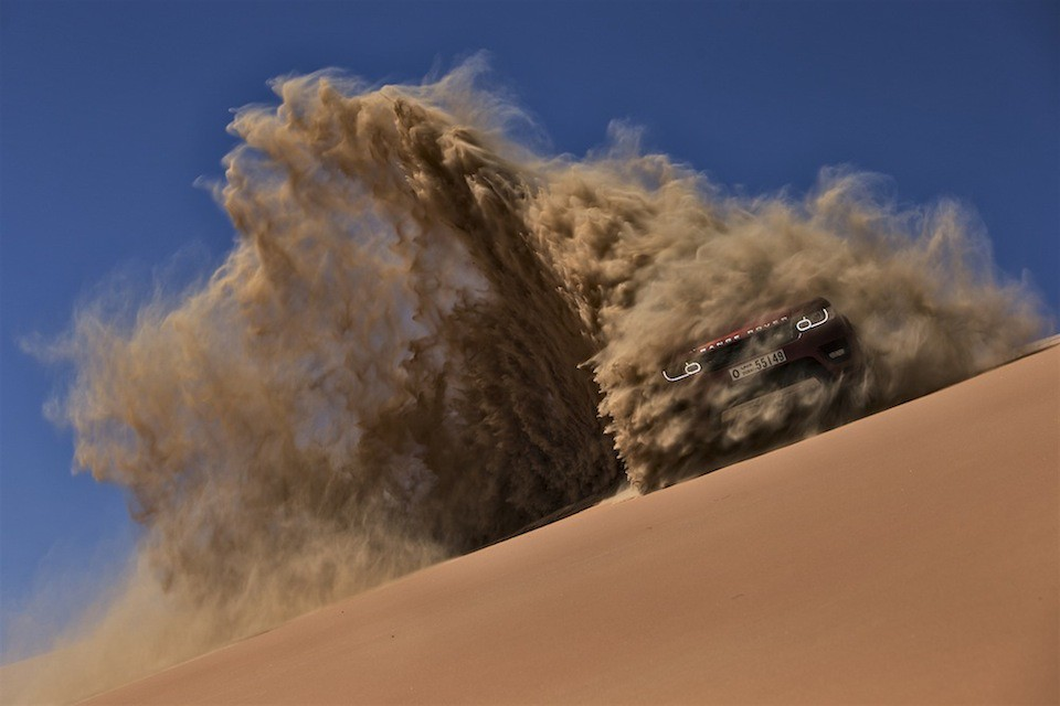 Range Rover Suv >> New Range Rover Sport | The Empty Quarter Driven Challenge ...