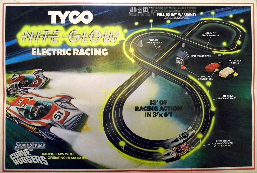 Electric Race Car Sets Tyco