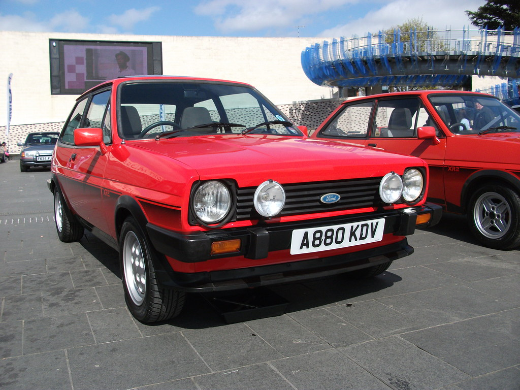 ford fiesta xr2 1983 coventry transport museum flickr. Black Bedroom Furniture Sets. Home Design Ideas