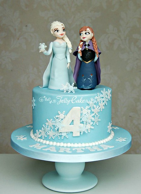 Birthday Cake Ideas Disney Frozen : Disney s Frozen Birthday Cake Flickr - Photo Sharing!