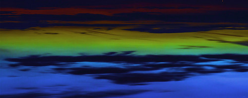 25-June2015 Midnight on Hoylake Beach  -  cropped and flipped image !