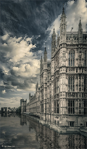Image of the Parliament Building in London, England