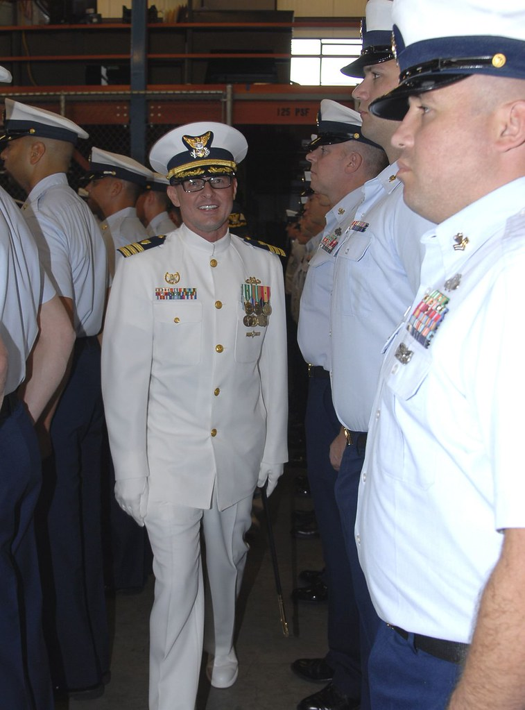 Coast Guard Port Security Unit 312 holds change of command ...