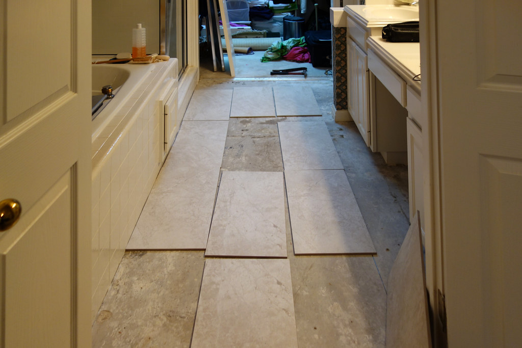 Laying Tile In Small Room