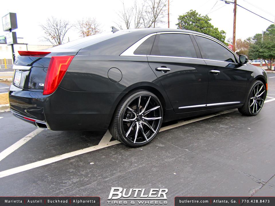 Cadillac Xts With 22in Lexani Lz 102 Wheels Additional