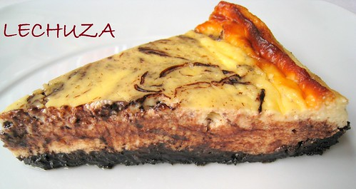 TARTA DE QUESO CHOCOLATEADA (4)