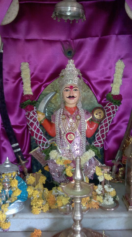 Bhathiji Maharaj In Fagvel The Vachra Dada Also Known As