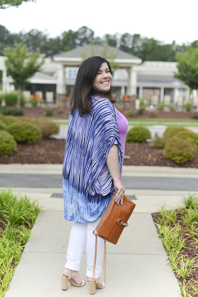 Summer Outfit Idea with a Kimono