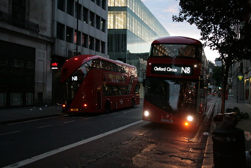 Stagecoach London LT245 & LT392 on Route N8, Centrepoint