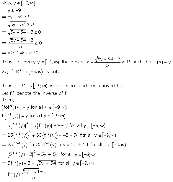 RD Sharma Class 12 Solutions Free online Chapter 2 Functions Ex2.5 Q14-1