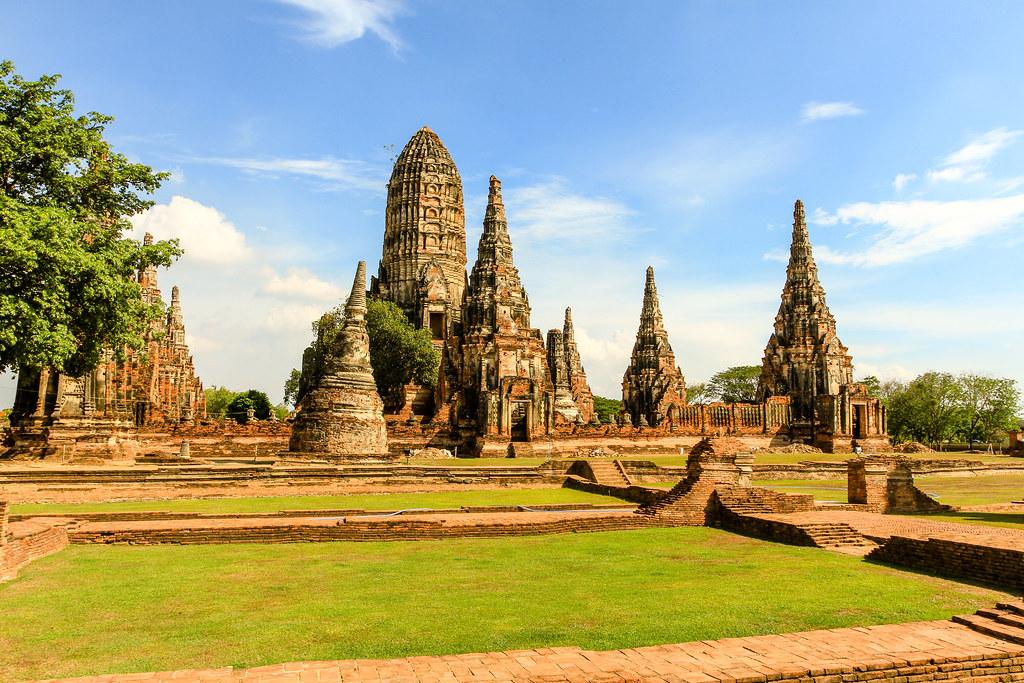 Wat Chaiwatthanaram - Ayutthaya, Thailand  Dutchflavour ...