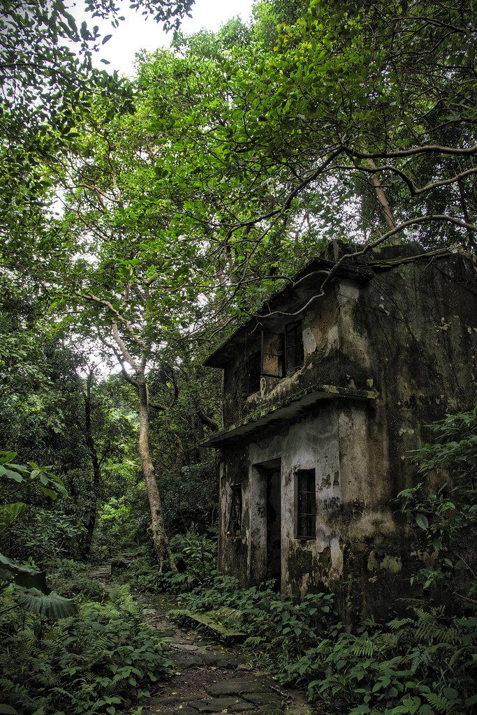 Abandoned house in the forest | New Territories, Hong Kong