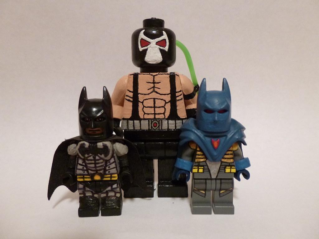 Lego Knightfall Bane Big-fig Size Comparison | Here is my