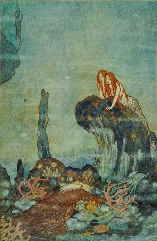Edmund Dulac Quot Shakespeare S Comedy Of The Tempest Quot 1908