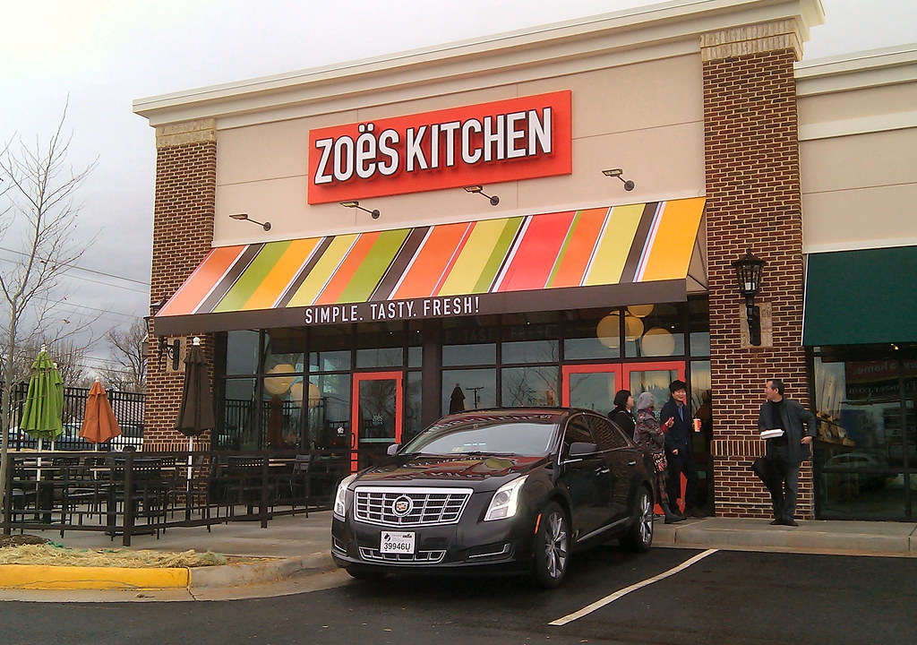 Zoes Kitchen zoe's kitchen opens in lynchburg | kipp teague | flickr
