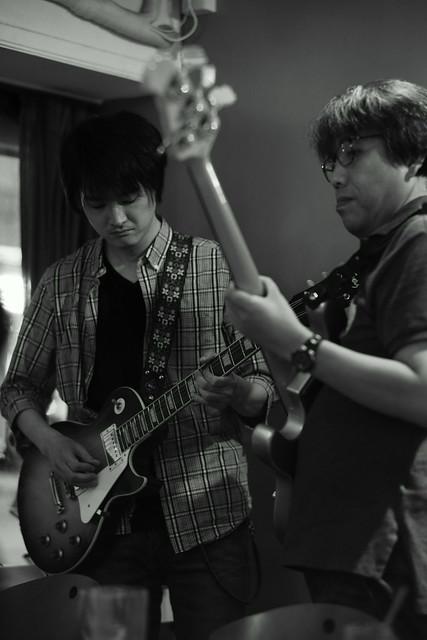 KOKOKAYO with Yoji Hamada and ずにあ live at Mviringo, Kawasaki, 21 Jun 2015. 021