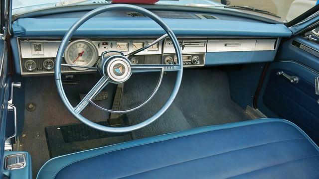 1965 Plymouth Valiant Custom 200 Convertible Interior