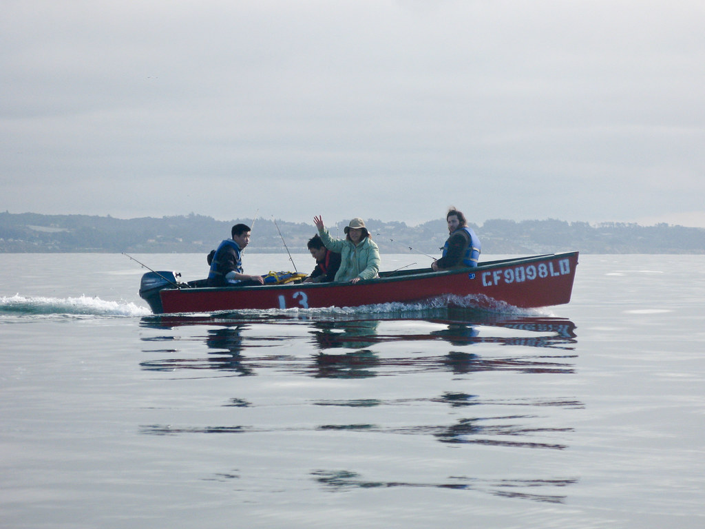Our friends boat 13 capitola fishing sean reynolds flickr for Capitola fishing report