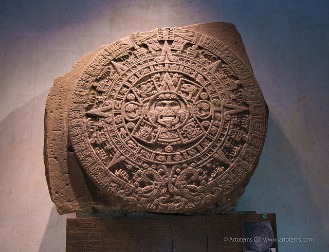 Aztec Calendar Home Decor