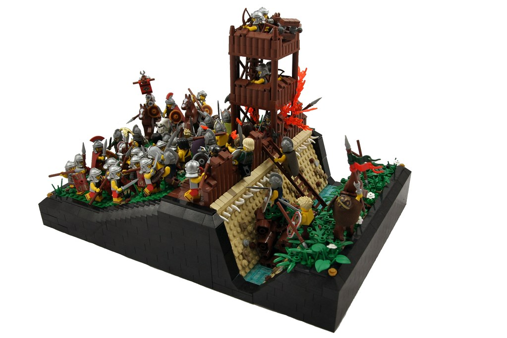 Siege Of Alesia September 52 Bc In The Spring Of 52 Bc