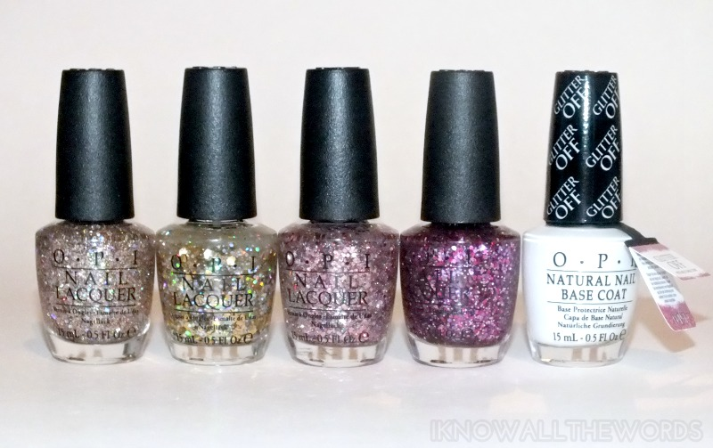 OPI Spotlight on Glitter Collection