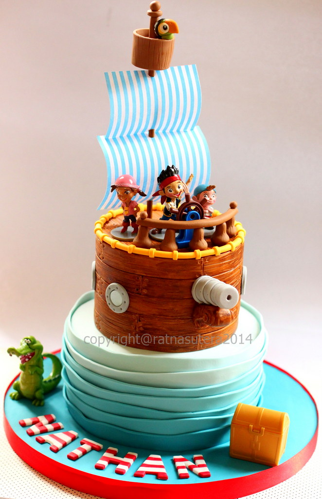 Images Of Jake And The Neverland Pirates Birthday Cakes