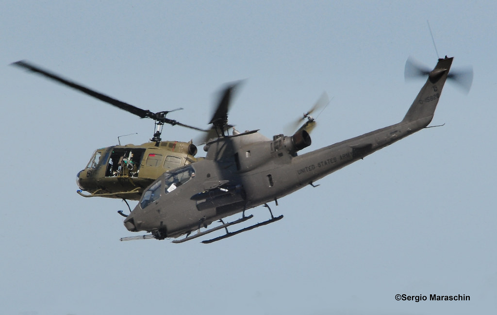 Srm570402147630 Huey And Cobra Depart In Tandem During A