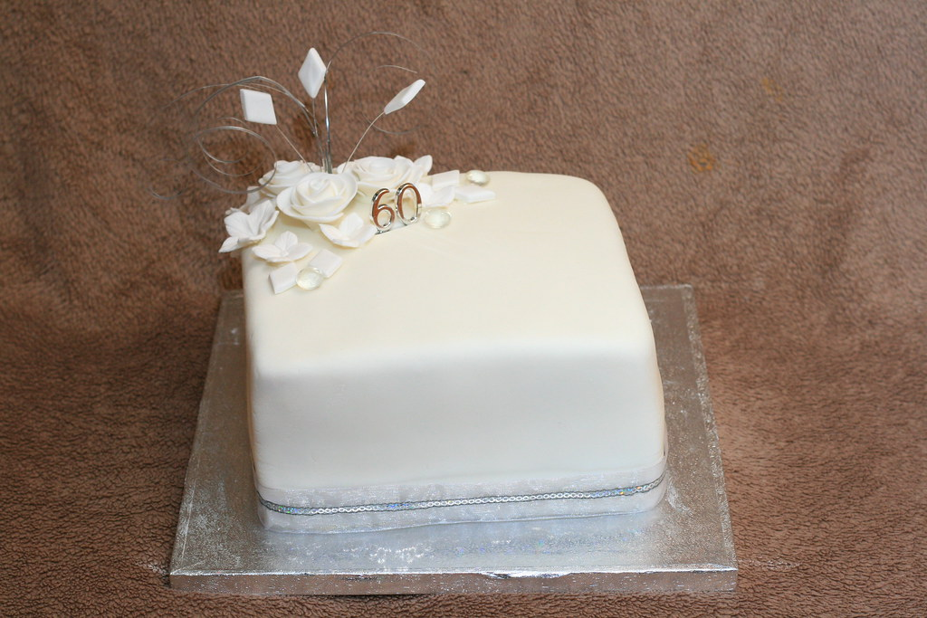 Diamond Wedding Cake Ribbon