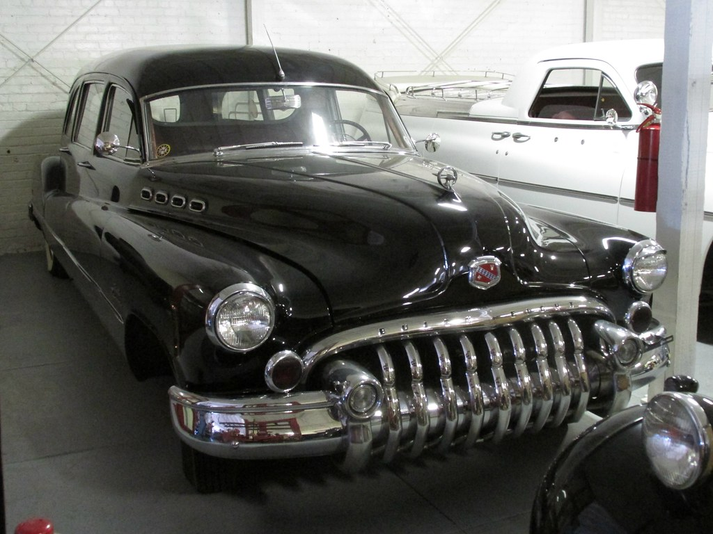 1950 Buick Hearse 3 Photographed At The Usa World