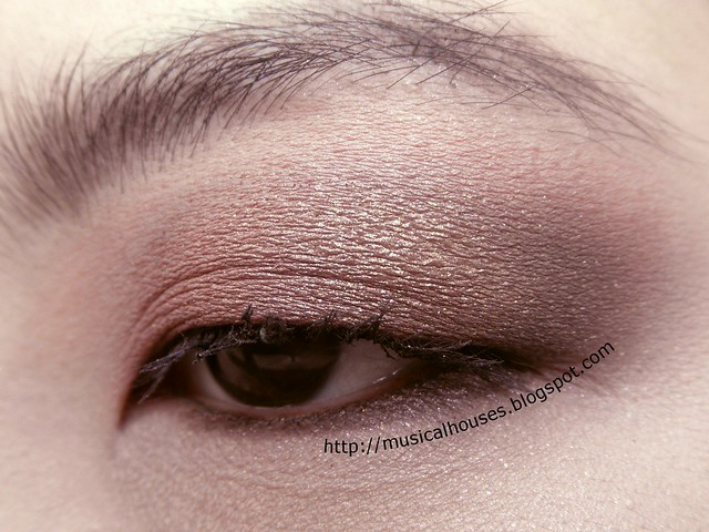 Pink Gold Brown Eyeshadow Eye Look 2
