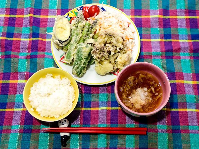2015年6月16日の晩ご飯