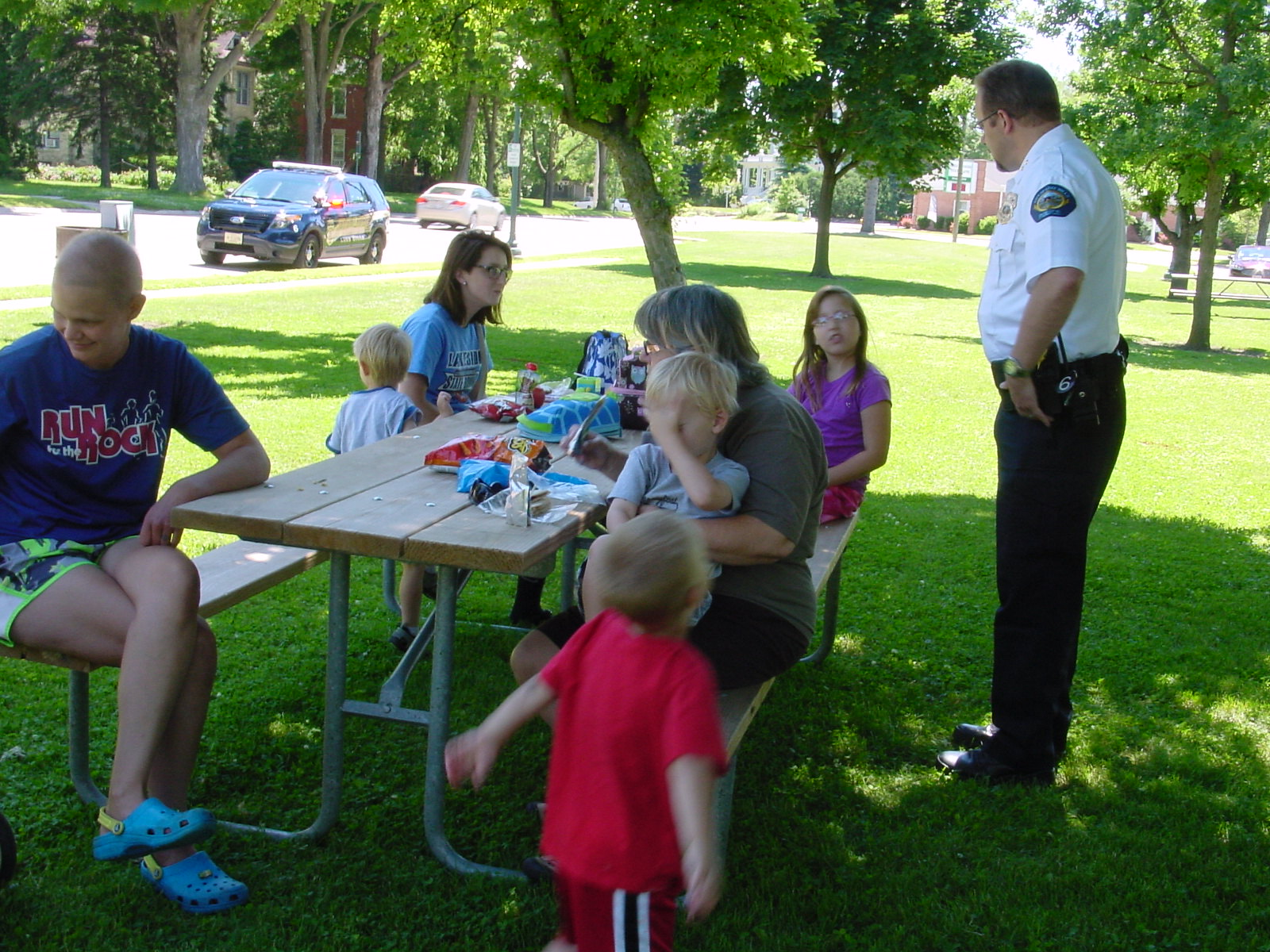 Lunch With A Hero: Lake Mills Police Department