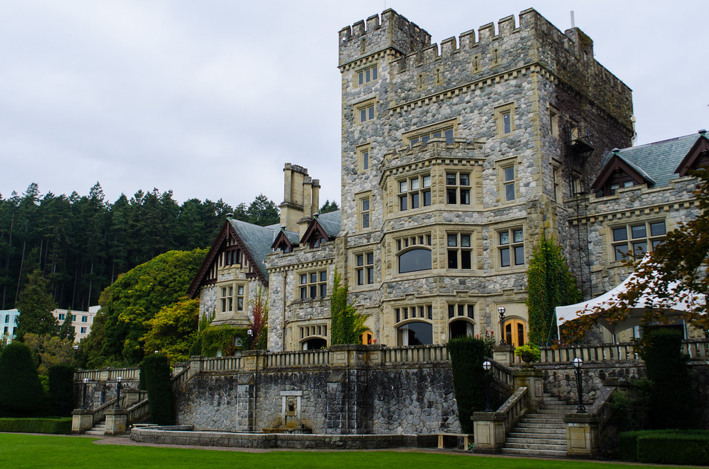 Hatley Castle Seen In Many Films And Tv Shows Including